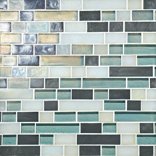 Daltile Glass Horizons Atlantic Blend 12 Quot X 12 Quot Random