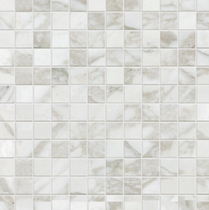 "Happy Floor Calacatta 1"" x 1"" Mosaic"