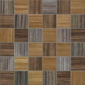 Interceramic Alma Natura 12 x 12 Tobacco Dark Mixage Mosaic