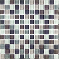 Interceramic Shimmer Blends Autumn 2 x 2 Gloss Mosaic