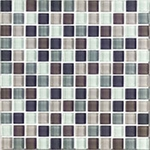 "Interceramic Shimmer Blends Autumn 2"" x 2"" Gloss Mosaic"