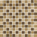 "Interceramic Shimmer Blends Desert 2"" x 2"" Gloss Mosaic"