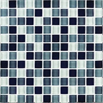 Interceramic Shimmer Blends Shadow 2 x 2 Gloss Mosaic