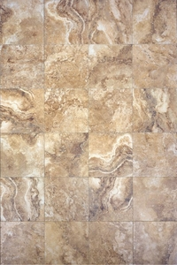 "Interceramic Travertino Royal Noce 24"" x 24"""