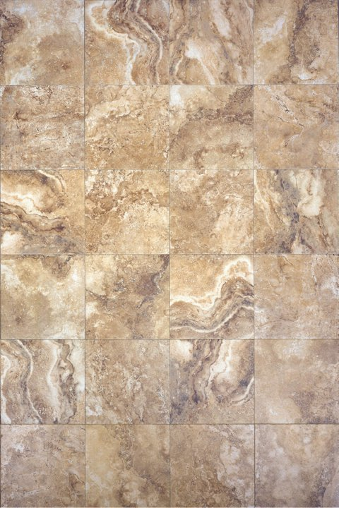 Interceramic Travertino Royal Noce 24 Quot X 24 Quot Ceramic Tile