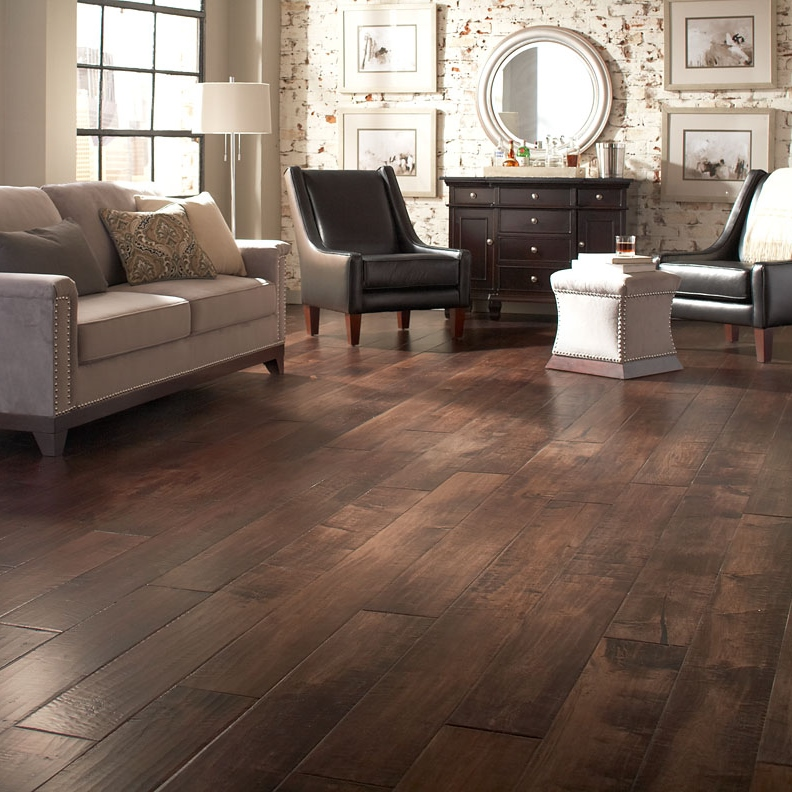 Johnson English Pub Hardwood Flooring Collection Maple