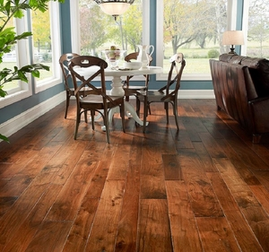 Johnson Tuscan Hardwood Flooring Walnut And Hickory