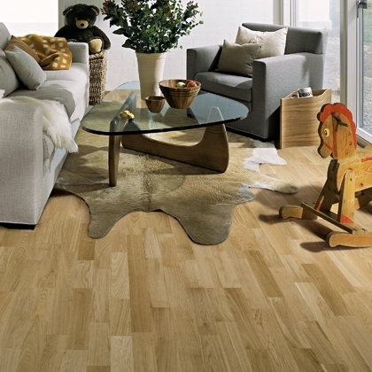 Kahrs Tres Oak Lecco Engineered Hardwood Flooring 7 7 8 Quot X
