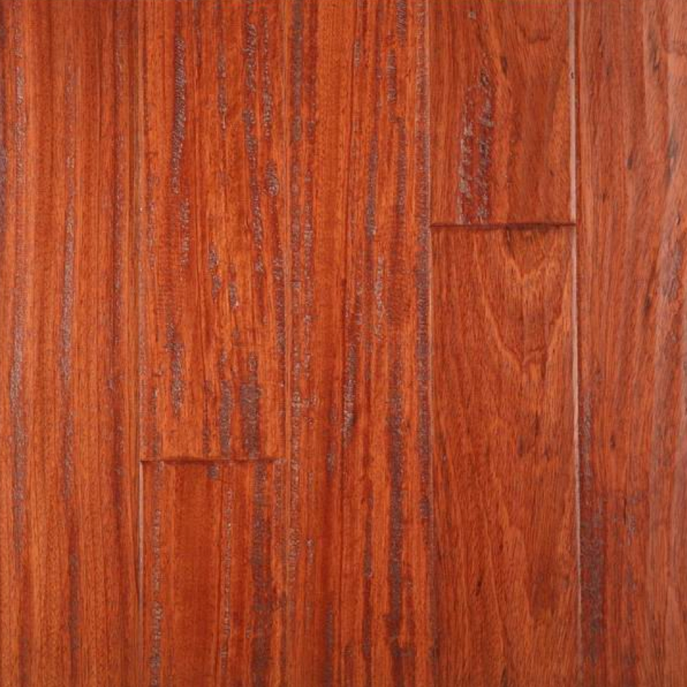 Lm Flooring Gevaldo Hand Scraped Brazilian Cherry Natural