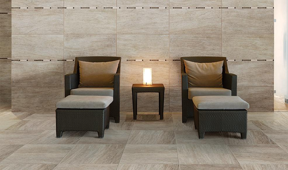 Marazzi Silk Sophisticated 18 Quot X 36 Quot Glazed Porcelain Tile