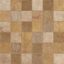 "Marazzi Walnut Canyon Golden Mosaic 2"" x 2"""
