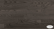 "Mirage Admriation Charcoal Red Oak 3/8"" x 3 5/16"" Engineered Semi-Gloss"