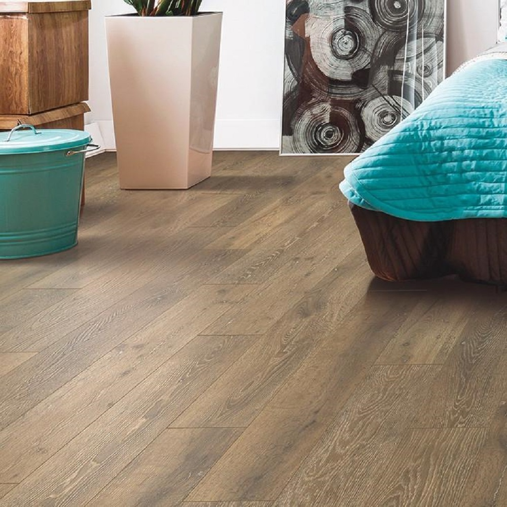 Mohawk Wooded Escape Rustic Brown Laminate Flooring