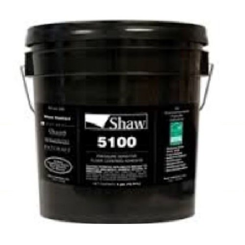 Shaw 5100 Commercial Carpet Tile Adhesive 4 Gallon