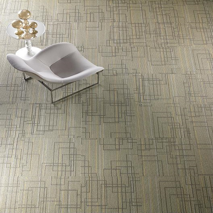 Shaw Contract Group Urban Reflections Mirror Image Carpet