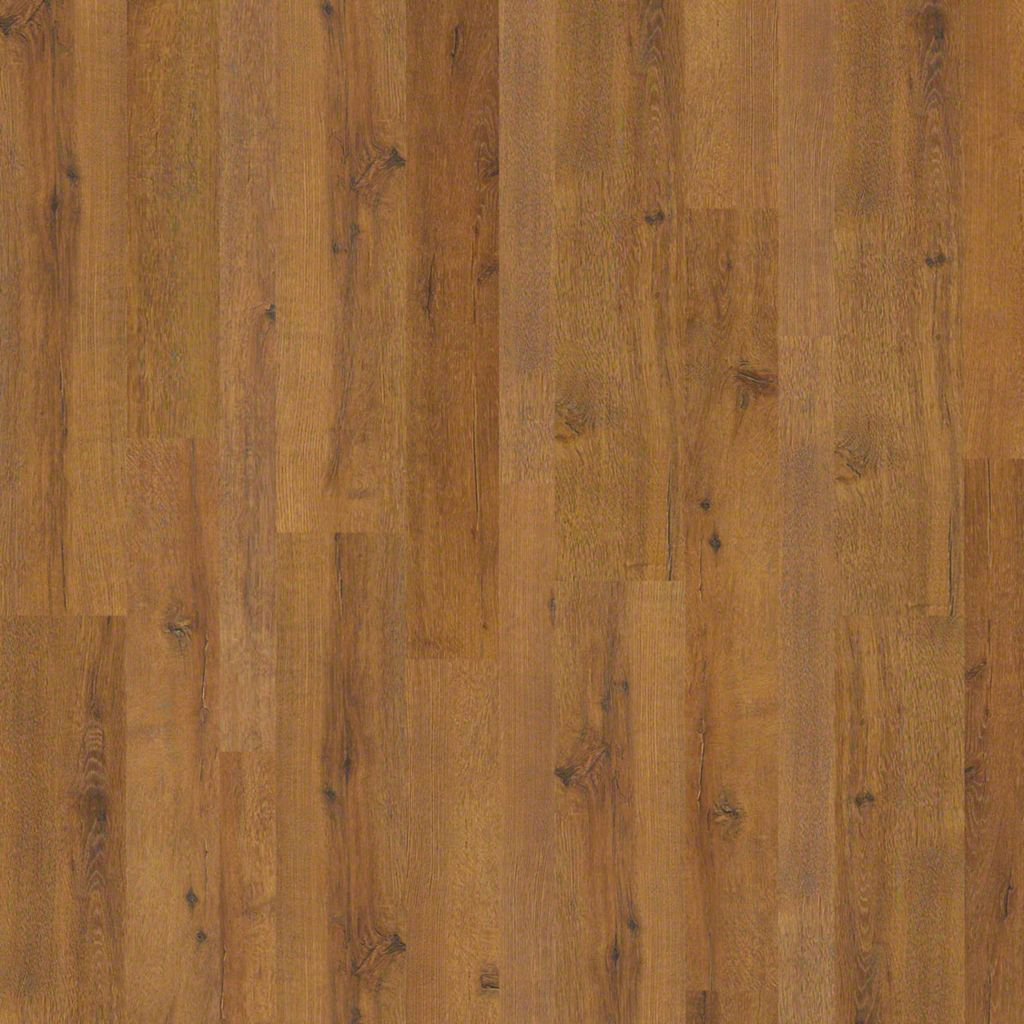 Shaw Designer Choice Spice Brown Mixed Width Laminate Flooring