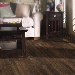 Shaw Laminate Natural Values II Black Canyon Cherry
