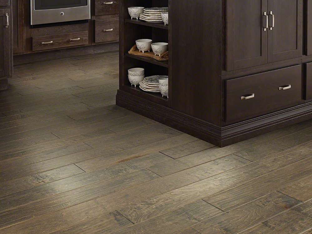 Shaw Yukon Maple Timberwolf Hardwood Flooring