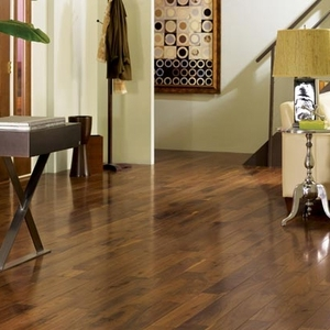"""Somerset Solid Character Plank American Walnut 5"""""""