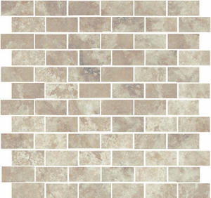 """StonePeak Rome Imperial Rome 1"""" x 2"""" Brick Joint Mosaic"""