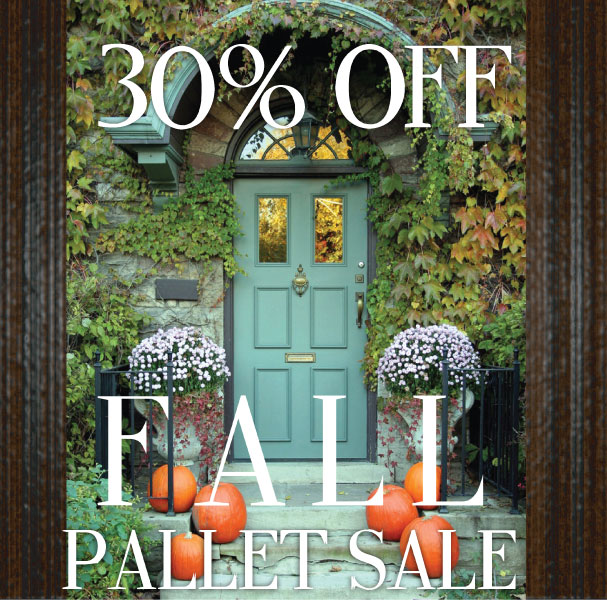 Fall Pallet Promotions
