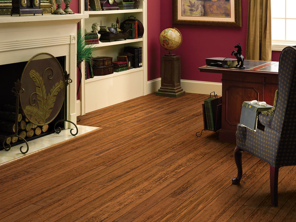 Usfloors Bamboo Strand Woven Locking 5 Quot Spice 604lws