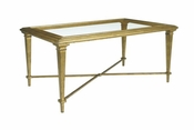 Gold Leaf Cocktail Table Save 40%