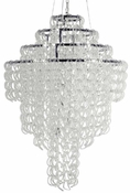 Glass Lace Chandelier - Xtra Large