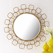 Wire Link Wall Mirror