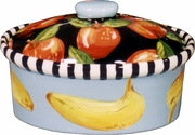 Checkers Medium Oval Casserole