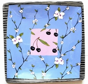 Cherry Blossom/Square Charger