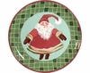 Christmas Gnome Unrimmed Salad Plate