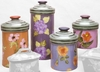 Fall Floral Canister Set of 4
