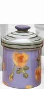 Fall Floral Medium Cannister