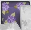 Fall Floral Square Dinner Plate/Hydrangea