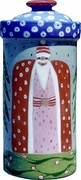 Father Christmas/Blue Extra Large Canister