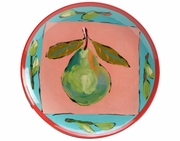 Fruit Squared Salad plate/Pear