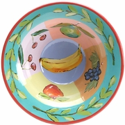 Fruit Squared Tall Rimmed Bowl