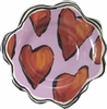 Hearts Dessert Cup /Red