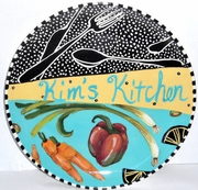 Kitchen Plate<br>PERSONALIZED