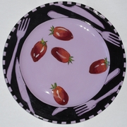 Let's Eat Dinner Plate/ Plum Tomato