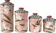 Peony Canister Set