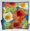 Stop and Smell the Roses Business Card Holder