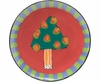 Trees/Dotted Pine - Unrimmed Salad Plate