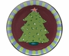 Trees/Green Pine - Unrimmed Salad Plate