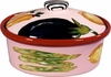 Vegetable Fruit Medium Oval Casserole
