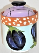 Vegetable Small Canister/ Eggplant