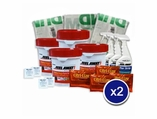 Peel Away 1 Paint Remover Complete 10G Pkg (10 Gal, Citrilize, Paper, 6 After Strip)