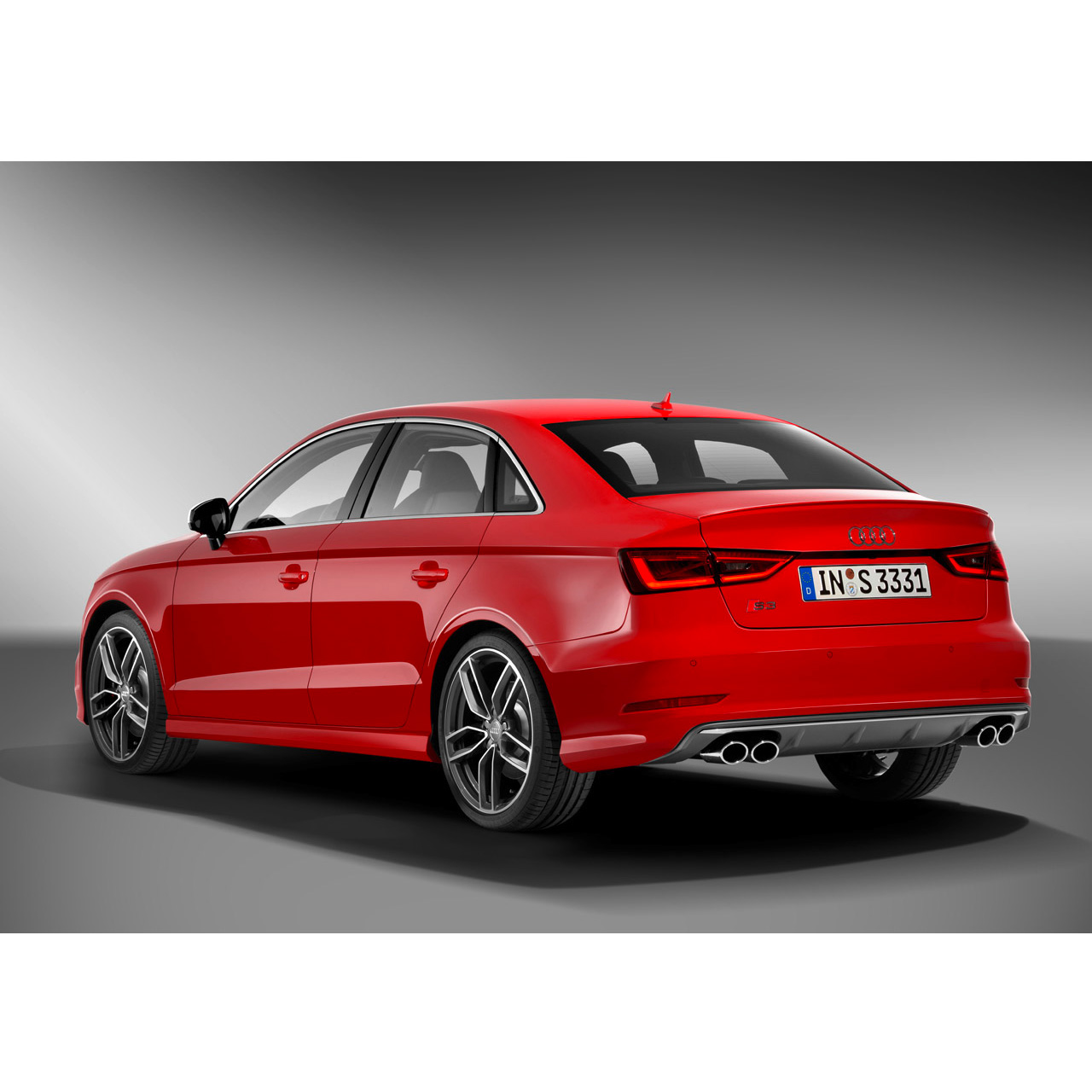 Audi S3 8v Rear Bumper Conversion Kit