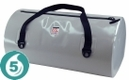 Mad Water 65L Waterproof USA Duffel - Cool Grey